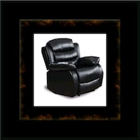 Black recliner chair Ashburn