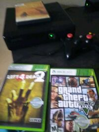 Xbox 360 two games one movie