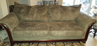 Living room set, cough, chair, love seat ORLANDO