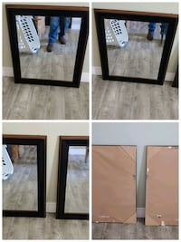 "2 - Wood framed mirrors like new 26""x30"" Blue Springs, 64015"