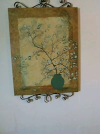 brown and green floral painting Lexington, 27292