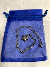 Silver Star Necklace Newmarket