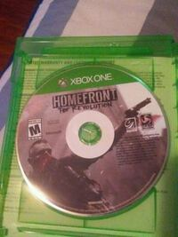 Xbox One Homefront The revolution disc with case Odessa, 79762