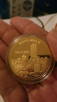 9112001  Commemorative coin