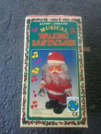 Musical walking Santa Claus Beverly Hills, 34465