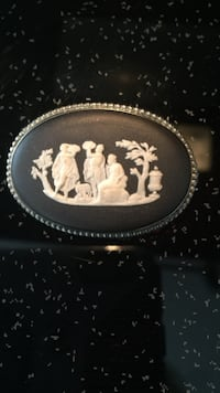 Wedgwood pin sterling silver