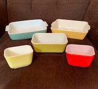 SALE on 5 Pyrex Primary Colors Pieces Vienna, 22180