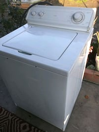 white top-load clothes washer 2345 mi