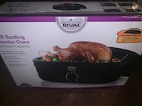 Self basting roaster oven (can cook any meat) power saver Langley, V1M 1Z2