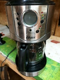 stainless steel and black coffee maker Hamilton, L8E 2C1