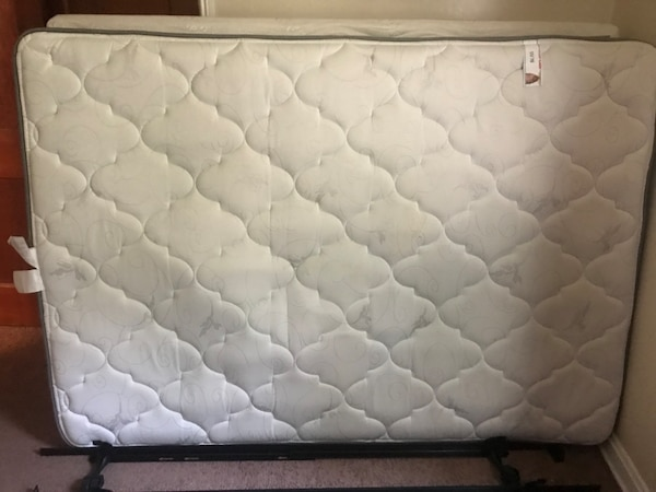 Used Bobs Furniture /Bliss Full size Mattress w/ frame for sale in