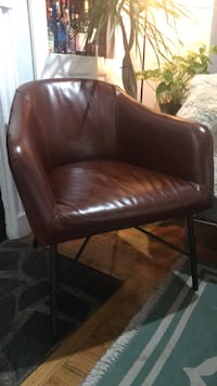Excellent quality West Elm leather chair Philadelphia, 19107