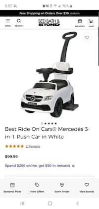 Mercedes Benz ride on car for kids  Queens, 11362