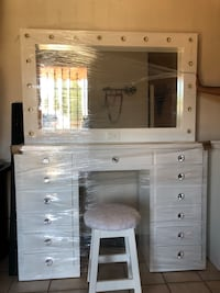 white wooden cabinet with mirror El Paso, 79904