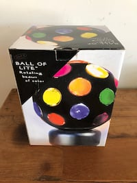 Ball of light new in box. Get your dance on   Lake Arrowhead, 92352