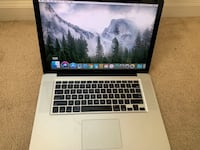 "15"" MacBook Pro (Mid-2010, 4GB RAM, 500GB HD) 28 km"
