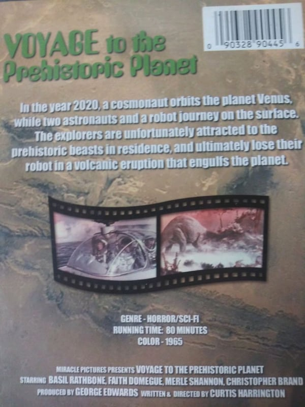 Voyage to the Prehistoric Planet dvd 8f5e0564-6fbc-4346-9a5c-239e513c2284