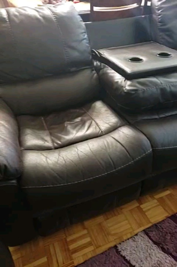 Recliner Sofa With Drop Down Table