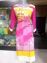 women's pink and white floral traditional dress Mumbai, 400037