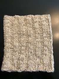 Wool Infinity Scarf - Neutral Color
