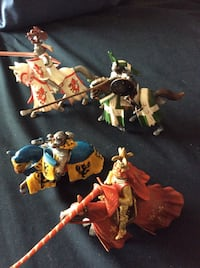 Schleich knights and horses Oakville, L6M