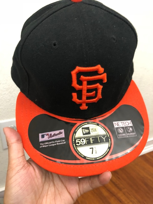 8999cb6394c0e Used Black and red san francisco 49ers cap for sale in San Jose - letgo