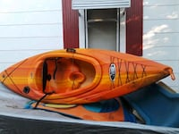 red and black inflatable boat Springfield, 65807