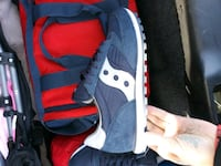 pair of blue-and-red Nike sneakers Wilmington, 19808