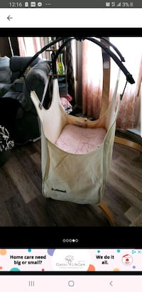 Natural baby swing In new condition bought online