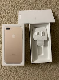 IPhone 7 Plus Box GOLD color Herndon, 20170