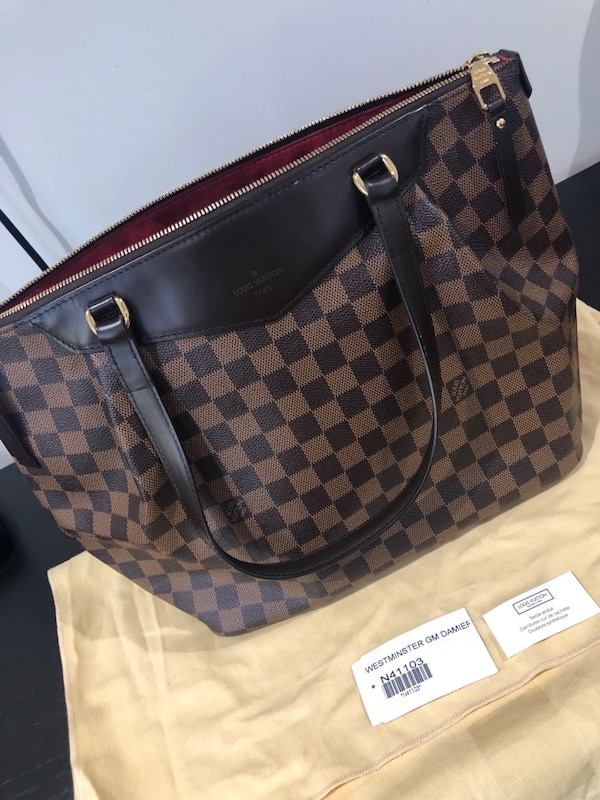 3d78ac95f53e7 Used Louis Vuitton - Westminster GM. Only used 4 times. In a mint  condition. Selling because I never use and I d rather buy a smaller purse  for the money. ...