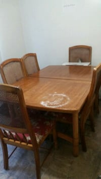 brown wooden dining table set Anaheim, 92804