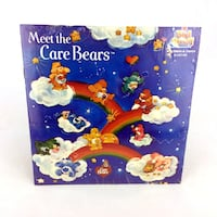 Meet The Care Bears Book & Record Read Along Kid Stuff Vinyl Talking Story 45rpm Port Colborne