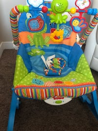 Fisher Price Bouncer with Music-PLS MSG ME!