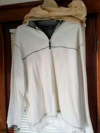 Arrow white pull over jacket
