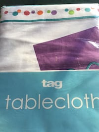 Tag Tablecloth - party print-retail $35