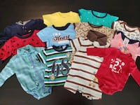 Baby boy clothes 0-3 months ($3 each or $25 for the lot) Ottawa, K2S