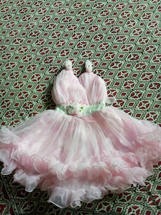 Pink frock size 20