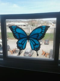 Butterfly stained glass art  Gatineau, J8Z 1T7