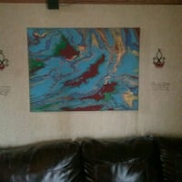 abstract painting Saint Martinville, 70582