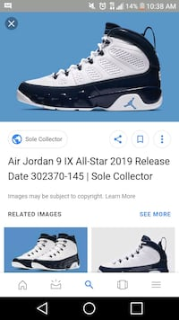 Air Jordan 9 IX All Star 2019 Release Date 302370 145 | Sole