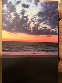 Beach sunset canvas 36 in x 24 in  Arlington, 22201