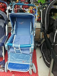 blue and gray folding wheelchair Union City, 07087