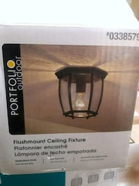 Brand new ceiling light fixtures $10 each I have 2.  6005 liberty rd