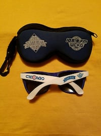 Chicago Cubs Sunglasses and collectable figurine 759 mi