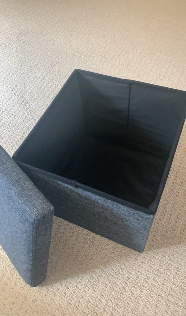 Foot Stool Storage Cube (2) 1