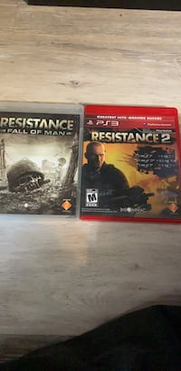 Resistance fall of man - Resistance 2 . Excellent condition! Edmonton, T5M 2N3