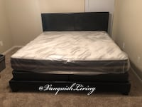 ALL NEW Black Bed Frame Mattress And Boxspring - Full Queen King Size Houston, 77018