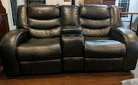 Leather love seat recliner  Calgary, T2C 3M1