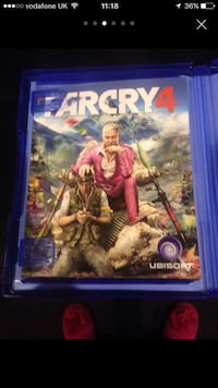 PS4 Far Cry Game Rotherham, S61 3JX